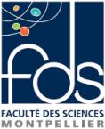 logo faculté des sciences Montpellier